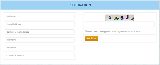 Registro en OptimalBux.