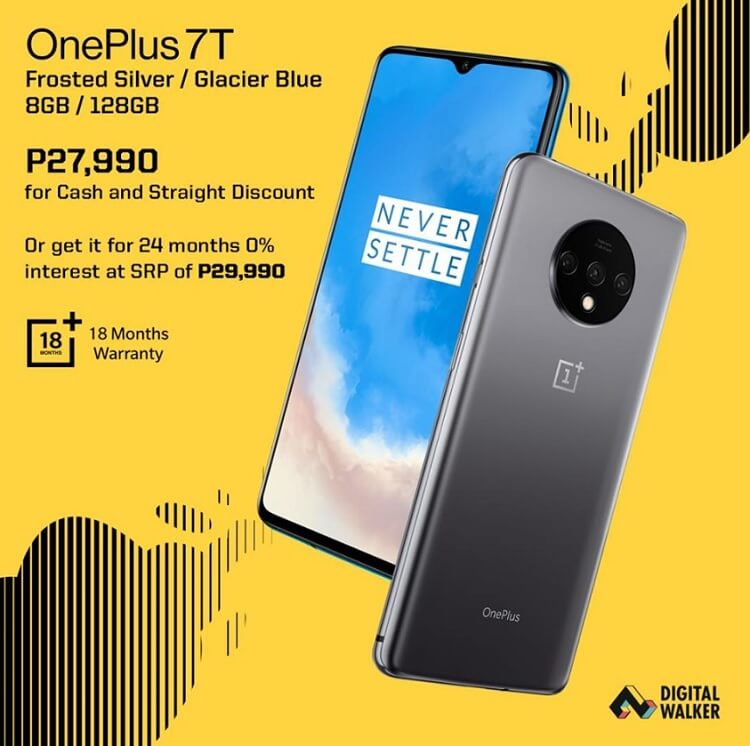 OnePlus 7T Now More Affordable for Cash, Straight Transactions