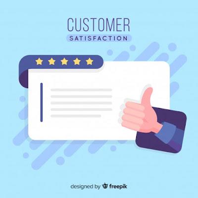 ilustrasi kepuasan pelanggan