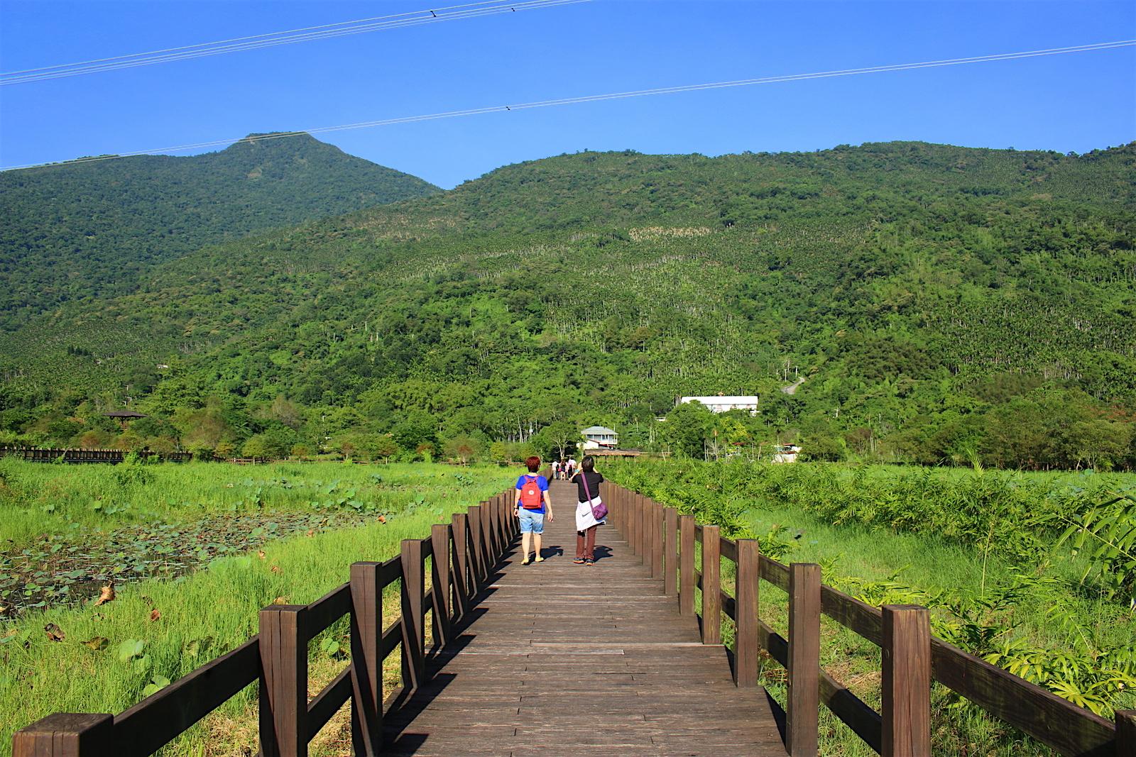 Khuôn viên của công viên sinh thái Mataian vô cùng rộng lớn