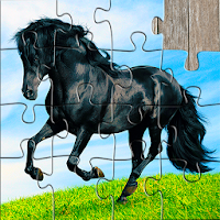 Horse Jigsaw Puzzles Game - For Kids & Adults Apk Download