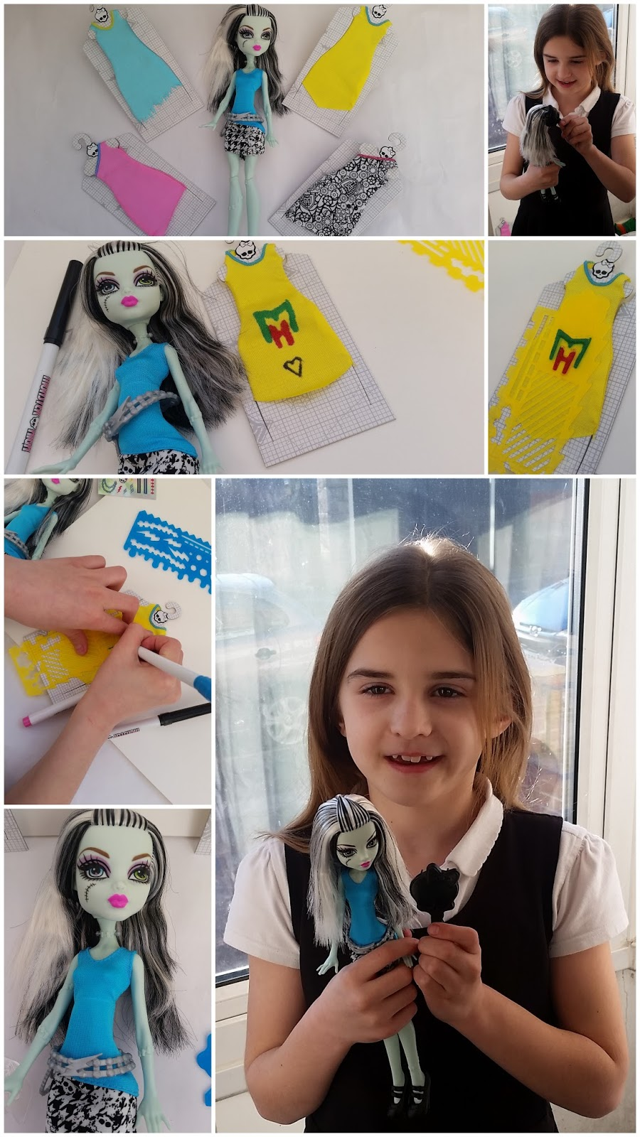 Mummy Of 3 Diaries Monster High Designer Booo Tique Frankie Stein Doll Review