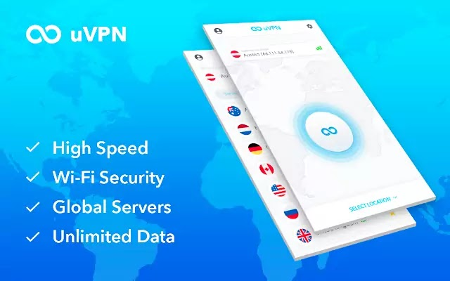 uVPN - Free, High Speed and Unlimited VPN for Everyone