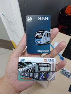 Kartu TapCash BNI edisi MRT Jakarta