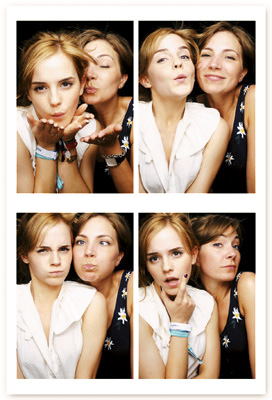 Emma watson lesbian kiss