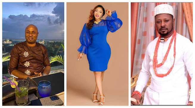 You brought tears to my eyes- Tonto Dikeh reacts as Prince Kpokpogri friend, Mayor Blessing supports her