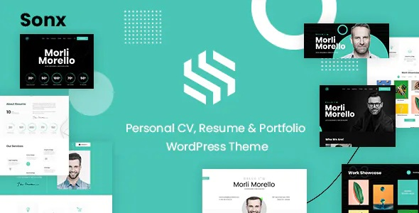 Best Personal Resume and Portfolio WordPress Theme