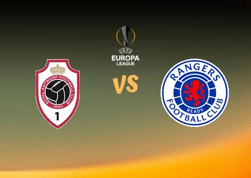 Antwerp vs Glasgow Rangers  Resumen