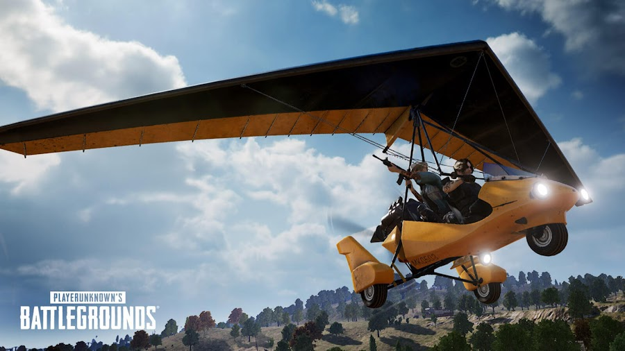 playerUnknown's battlegrounds season 6 live ps4 xb1 motor glider vehicle pubg corp battle royale