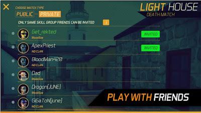 MaskGun FPS Multiplayer Mod Unlimited Ammo Apk v2.06