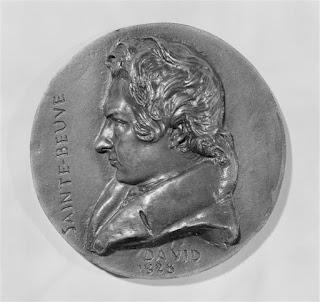 David d'Angers (1788-1856) - Charles-Augustin Sainte-Beuve - Médaillon - 1828 - Louvre.