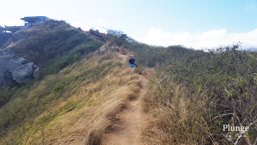 Going up to Pillbox hike