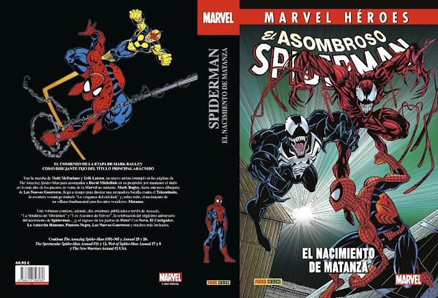 Reseña de Marvel Héroes. El Asombroso Spiderman: El nacimiento de Matanza, Panini Comics