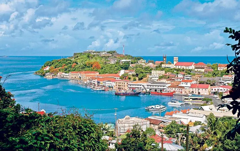 Grenada,Top 10 Smallest Countries | Beautiful Island | Most Beautiful  Islands In The World