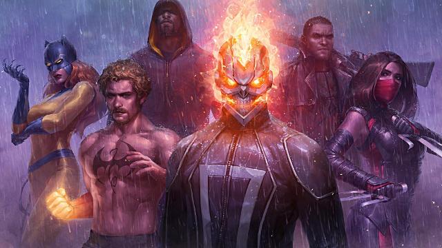 Marvel Future Fight - Fond d'écran en Full HD