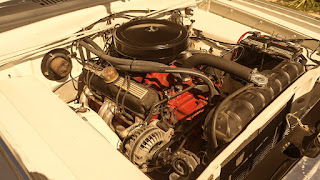 1966 Dodge D-Dart GT Sports Coupe Engine 01