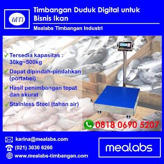 Timbangan Duduk Digital / Timbangan Ikan Digital