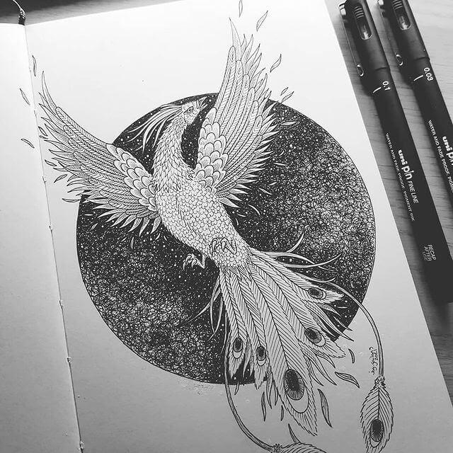 11-The-majestic-phoenix-Jason-Gailans-www-designstack-co