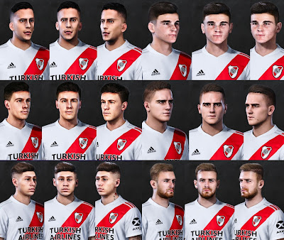 PES 2021 River Plate FacePack by Valentinlgs10