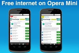 Child Protection Password untuk Opera Mini Handler