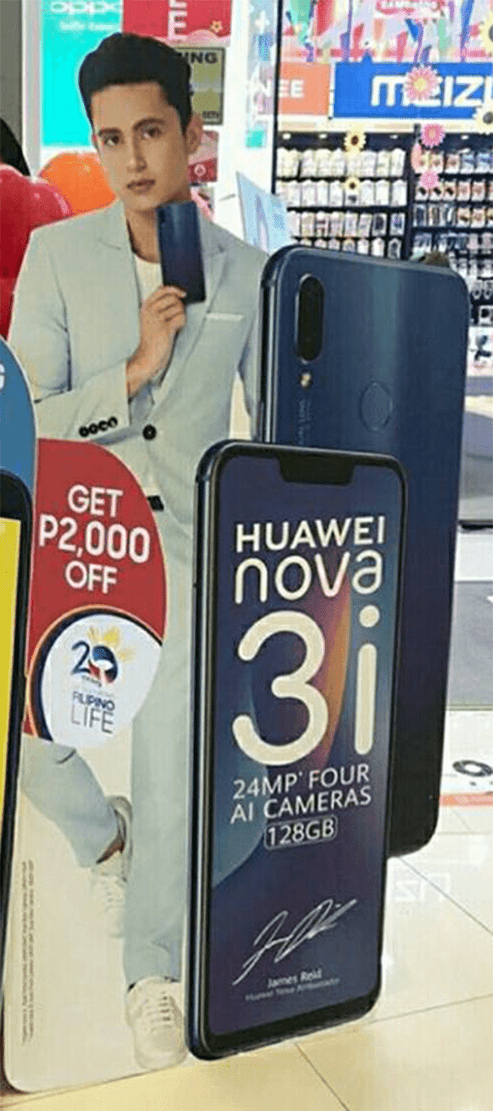 Huawei to launch the Nova 3i in the Philippines soon!
