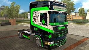 Scania RJL Prometheus 2 skins