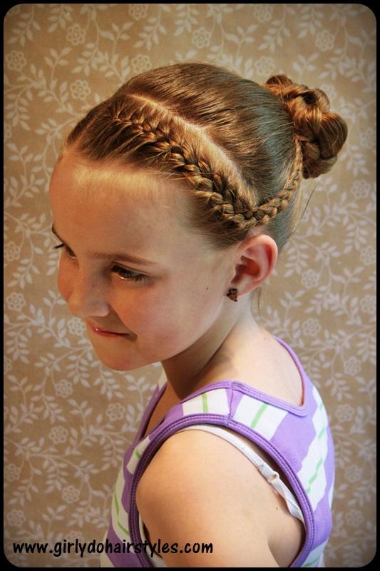 Wondrous Girly Do Hairstyles By Jenn Katie39S Dance Braids And Bun Style Short Hairstyles Gunalazisus