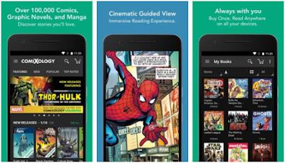 Aplikasi Baca Komik Online & Offline - 2