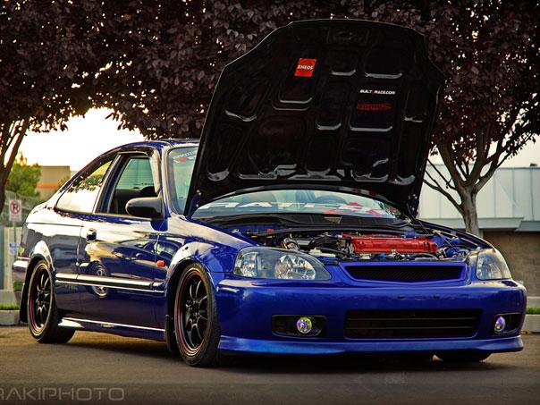 Cars Honda Civic 97 Modified