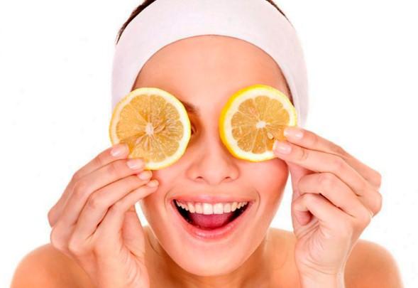 Mascarillas faciales a base de naranja