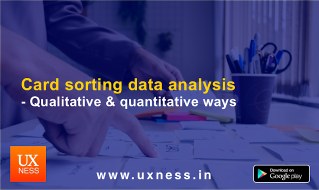 Card sorting data analysis
