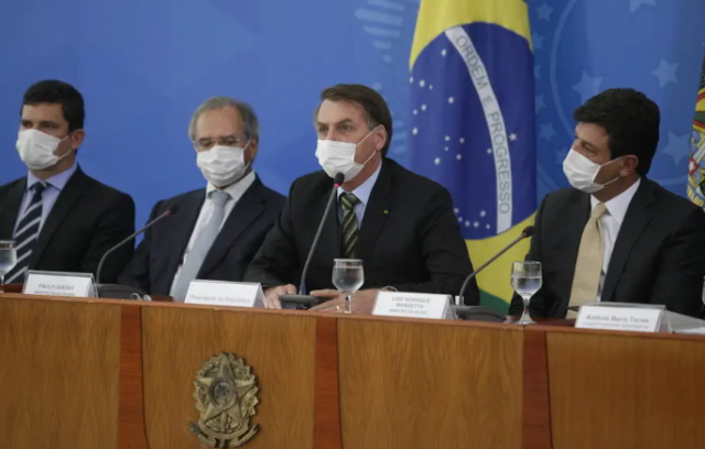 Bolsonaro divulga pacote de R$ 88 bilhões para governos enfrentarem pandemia