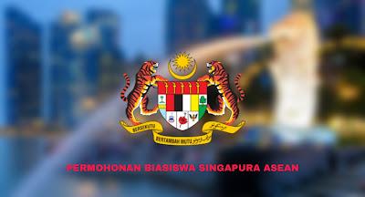 Permohonan Biasiswa Singapura ASEAN 2020 Online