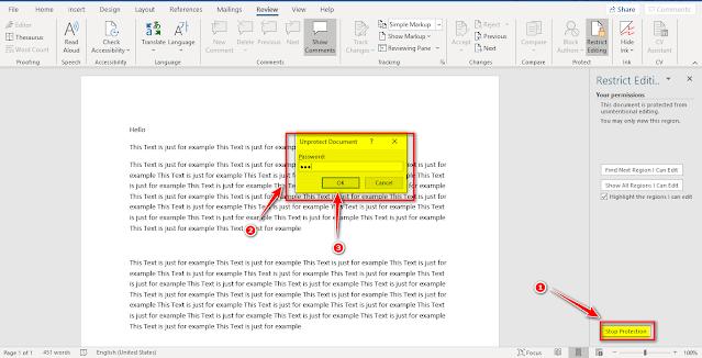 كيف يمكن جعل الملف Word غير قابل للتعديل..الحماية من النسخ والتعديل
