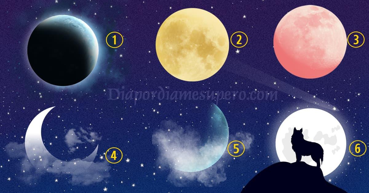 Test Espiritual: elige una luna y descubre tu camino elegido en la vida