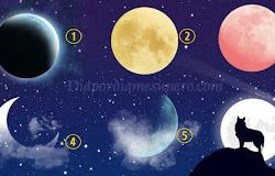 🌔 Test Espiritual: elige una luna y descubre tu camino elegido en la vida🌙