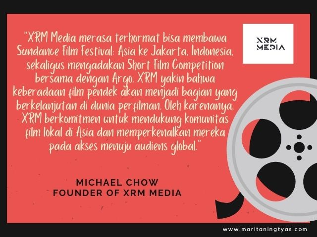 quote michael chow founder XRM Media