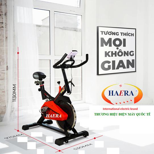 Thương hiệu Haera, Xe đạp tập thể dục tốt nhất nhờ có sự đột phá trong công nghệ