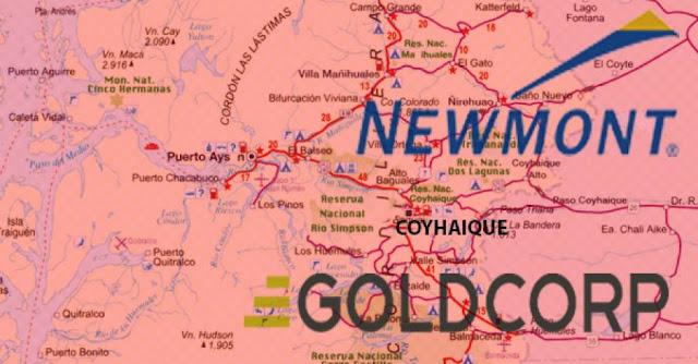 Minera Newmont inscribe más de 50 mil hectáreas en Aysén para explotar oro