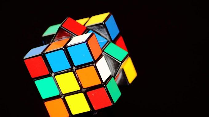 Papel de Parede Cubo Mágico