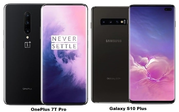 OnePlus 7T Pro Vs Samsung Galaxy S10 Plus Specs Comparison