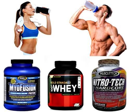 Batido de proteínas con carbohidratos pos pesas deportes