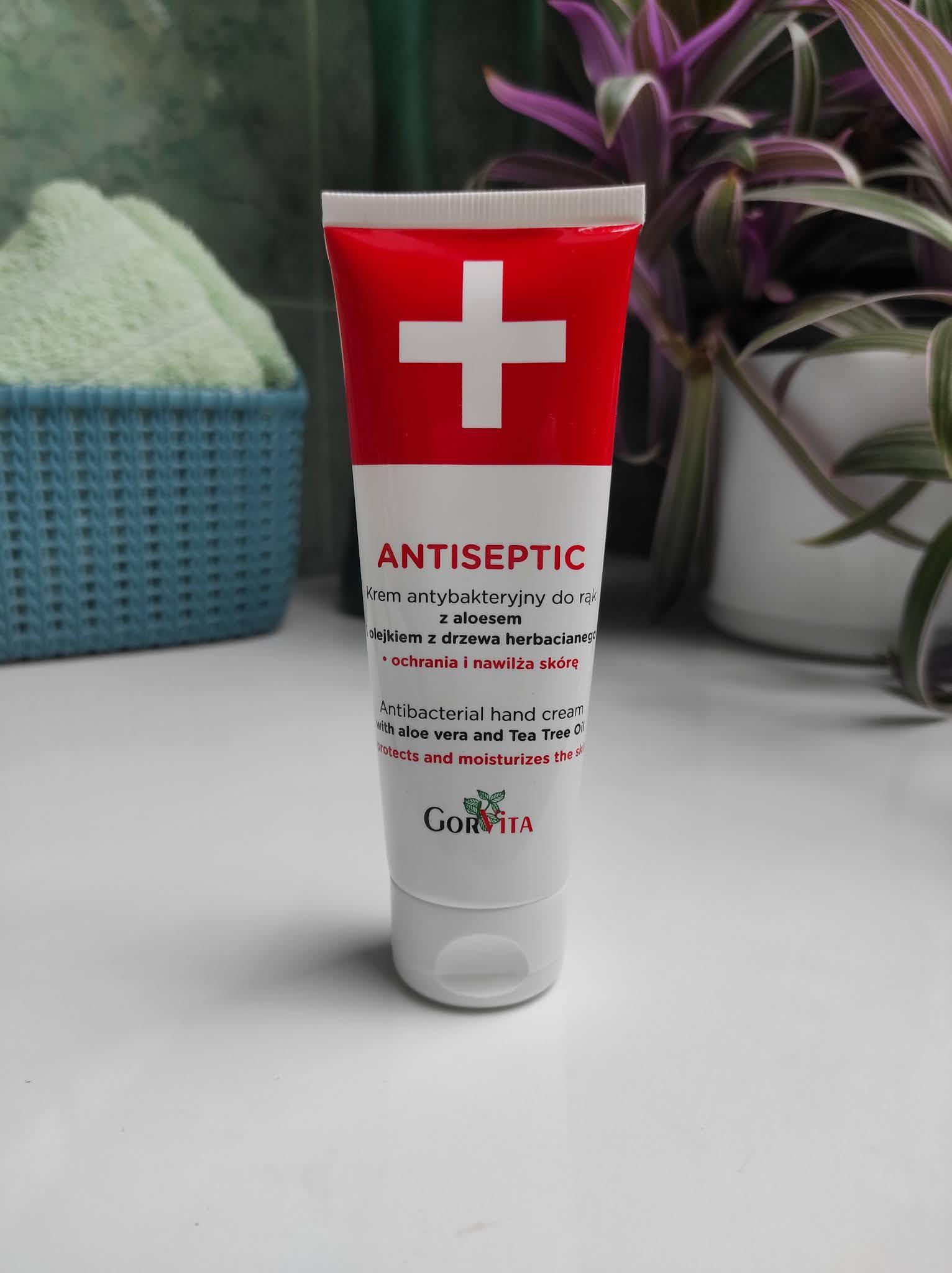 Antiseptic - produkty antybakteryjne do rąk z aloesem i alantoiną