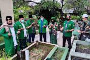 Harlah Ke-95 NU, Pimpinan GP Ansor Ziarah Makam Muassis NU Sulsel