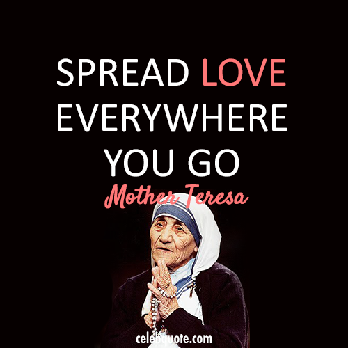 Quote From Mother Teresa: Great Inspirational Quotes