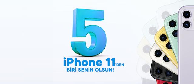 Chippin ile CarrefourSA 5 iPhone 11 Dağıtıyor!