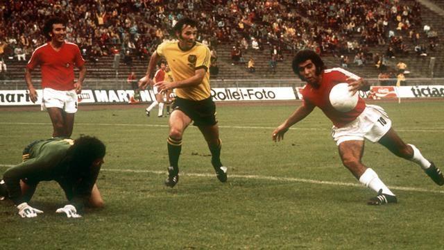 Australia y Chile en Copa del Mundo Alemania 1974, 22 de junio