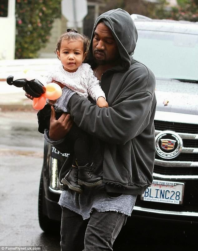 kanye west baby north west