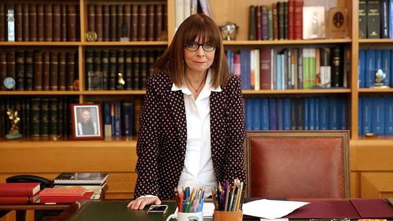 Με 261 ψήφους Πρόεδρος της Δημοκρατίας η Αικατερίνη Σακελλαροπούλου