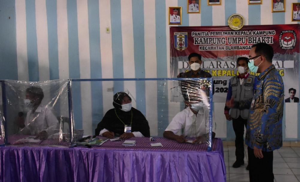 Pantau Pelaksanaan Pilkakam Serentak, Bupati Waykanan : Ini Merupakan Pilkakam Tunda 2020